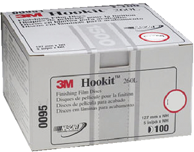 HOOKIT<sup>TM</sup> 260L FINISHING FILM DISCS (#71-00968) - Click Here to See Product Details