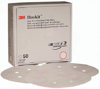 HOOKIT DUST-FREE FINISHING FILM DISC 260L  (#71-01068) - Click Here to See Product Details