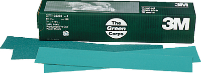 GREEN CORPS STIKIT PRODUCTION RESIN BOND PAPER SHEETS (#71-02230) - Click Here to See Product Details