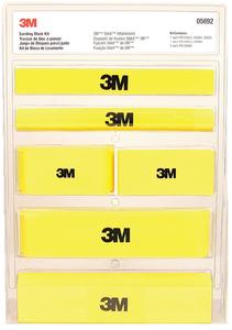 3M SANDING BLOCK KIT (05692)