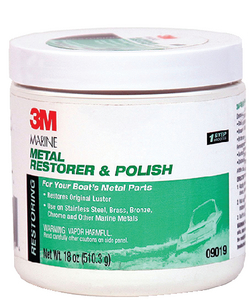 3M MARINE METAL RESTORER & POLISH  (#71-09019) - Click Here to See Product Details