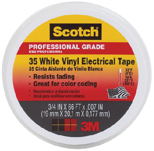 SCOTCH 35 VINYL ELECTRICAL TAPE (#71-10828) - Click Here to See Product Details