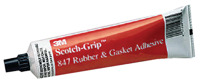 SCOTCH-GRIP<sup>TM</sup> RUBBER & GASKET ADHESIVE 847 - Click Here to See Product Details
