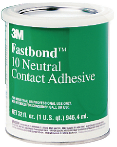 FASTBOND<sup>TM</sup> CONTACT ADHESIVE  - Click Here to See Product Details