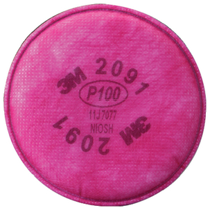 RESPIRATOR REPLACEMENT FILTERS (#71-2091P100) - Click Here to See Product Details