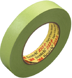 SCOTCH<sup>®</sup> PERFORMANCE GREEN MASKING TAPE 233+ (#71-26334) - Click Here to See Product Details