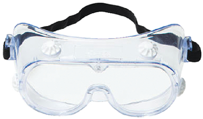 3M<sup>TM</sup> CHEMICAL SPLASH GOGGLE CLEAR LENS (#71-62139) - Click Here to See Product Details