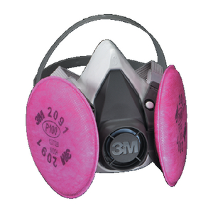 6000 SERIES HALF FACEPIECE RESPIRATOR ASSEMBLY (#71-6291) - Click Here to See Product Details