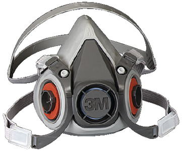 6000 SERIES HALF FACEPIECE RESPIRATOR ONLY (#71-6300) - Click Here to See Product Details