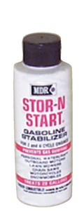 STOR-N-START<sup>®</sup> GASOLINE STABILIZER (#79-MDR550) - Click Here to See Product Details