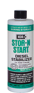STOR-N-START<sup>®</sup> DIESEL STABILIZER (#79-MDR565) - Click Here to See Product Details