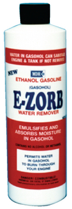 E-ZORB FOR WATER IN E-10 GAS (#79-MDR574) - Click Here to See Product Details