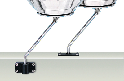 ROD HOLDER MOUNTING BRACKET (#214-A10160) - Click Here to See Product Details