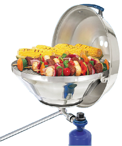 MARINE KETTLE<sup>TM</sup> GAS GRILL (#214-A10205) - Click Here to See Product Details