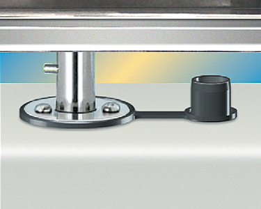 SINGLE LOCKING DECK SOCKET MOUNT - STANDARD DUTY  (#214-T10326) - Click Here to See Product Details