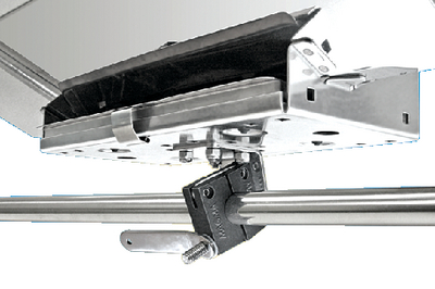 SINGLE HORIZONTAL ROUND RAIL MOUNT (#214-T10380) - Click Here to See Product Details