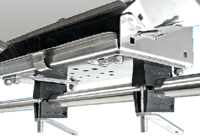 DUAL HORIZONTAL ROUND RAIL MOUNT (#214-T10590) - Click Here to See Product Details