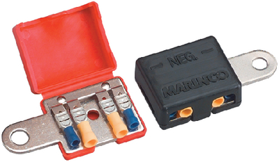 MULTI CONNECTION BATTERY TERMINAL (#69-12VTR) - Click Here to See Product Details