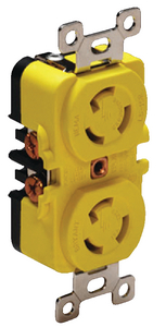 15 AMP DUPLEX RECEPTACLE (#69-4700CR) - Click Here to See Product Details