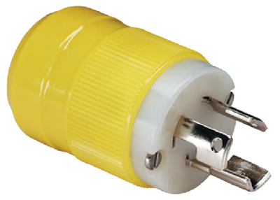 15A, 125V LOCKING PLUG & CONNECTOR (#69-4721CR) - Click Here to See Product Details