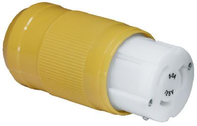 50A FEMALE CONNECTOR AND MALE PLUG (#69-6360CRN) - Click Here to See Product Details