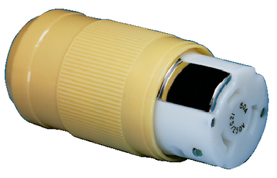 50A FEMALE CONNECTOR AND MALE PLUG (#69-6364CRN) - Click Here to See Product Details