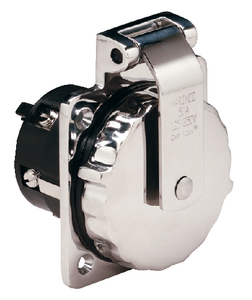 STAINLESS STEEL POWER INLET (#69-6373EL) - Click Here to See Product Details