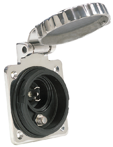 PHONE/TV STAINLESS STEEL INLET (#69-PH6592TVSS) - Click Here to See Product Details