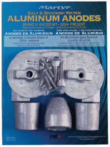 BRAVO III ANODE KIT (#194-CMBRAVO3KITZ) - Click Here to See Product Details