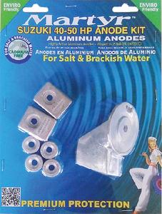 MARTYR ANODES ANODE-SUZ 40-50 HP AL (CMSZ4050KITA)
