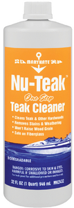 NU-TEAK<sup>TM</sup> CLEANER - Click Here to See Product Details