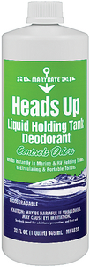 HEADS UP<sup>TM</sup> HOLDING TANK DEODORANT - Click Here to See Product Details