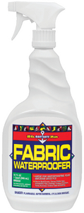 FABRIC WATERPROOFER - Click Here to See Product Details