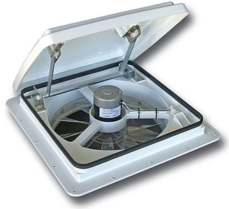 RV PRODUCTS-AIRXCEL, INC.(MAXX AIR VENT) WHITE LID MANUAL OPENING 4000K (00-04000K)