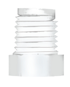 PLASTIC HEX HEAD PLUGS (#38-28601W) - Click Here to See Product Details