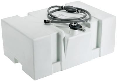 BOSTON WHALER WHITE GAS TANK-TOPSIDE (#114-031626) - Click Here to See Product Details