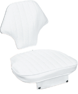NARROW HELMSMAN CHAIR & CUSHION SET (#114-CU10502D) - Click Here to See Product Details