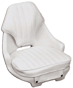 NARROW HELMSMAN CHAIR & CUSHION SET (#114-ST2050HD) - Click Here to See Product Details