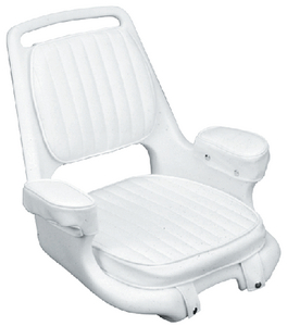 EXTRA-WIDE OFFSHORE HELMSMAN CHAIR & CUSHION SET (#114-ST2080HD) - Click Here to See Product Details