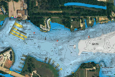 HOTMAPS PLATINUM MULTI-DIMENSIONAL LAKE MAPS (#155-SDHMPTS6) - Click Here to See Product Details