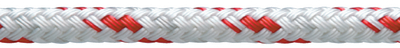 """NEW ENGLAND ROPES STA SET 1/4""""X600FT RED FLECK (21110800600)"""