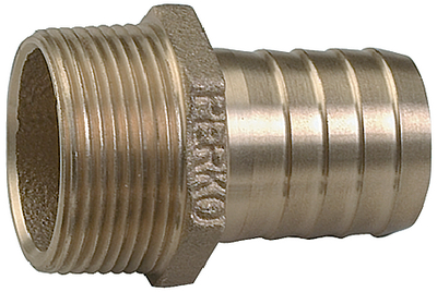 STRAIGHT PIPE TO HOSE ADAPTER (#9-0076DP8PLB) - Click Here to See Product Details