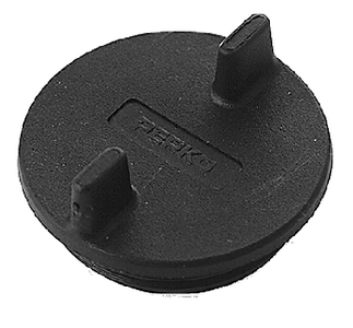 REPLACEMENT CAP WITHOUT LOCK (#9-0126DP0BLK) - Click Here to See Product Details