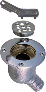 COCKPIT SCUPPER (#9-0142002CHR) - Click Here to See Product Details