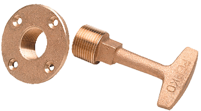 GARBOARD DRAIN PLUG (#9-0266DP0PLB) - Click Here to See Product Details