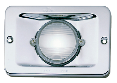 RECTANGULAR STERN LIGHT (#9-0284DP0CLR) - Click Here to See Product Details