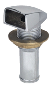STRAIGHT GAS TANK VENT (#9-0509DP4CHR) - Click Here to See Product Details