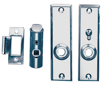 TUBULAR LATCH SET (#9-0567DP0CHR) - Click Here to See Product Details