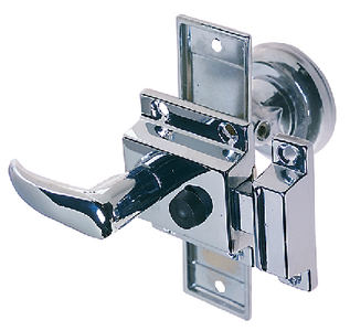 RIM LATCH SET (#9-0928DP0CHR) - Click Here to See Product Details