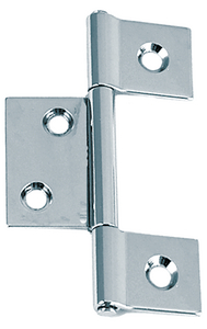 NON-MORTISED HINGES (#9-0957DP0CHR) - Click Here to See Product Details